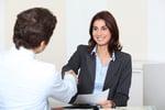 Job applicant having an interview-1