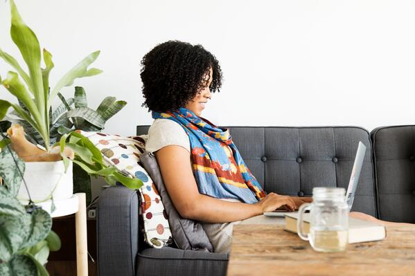 woman-works-on-computer-at-home