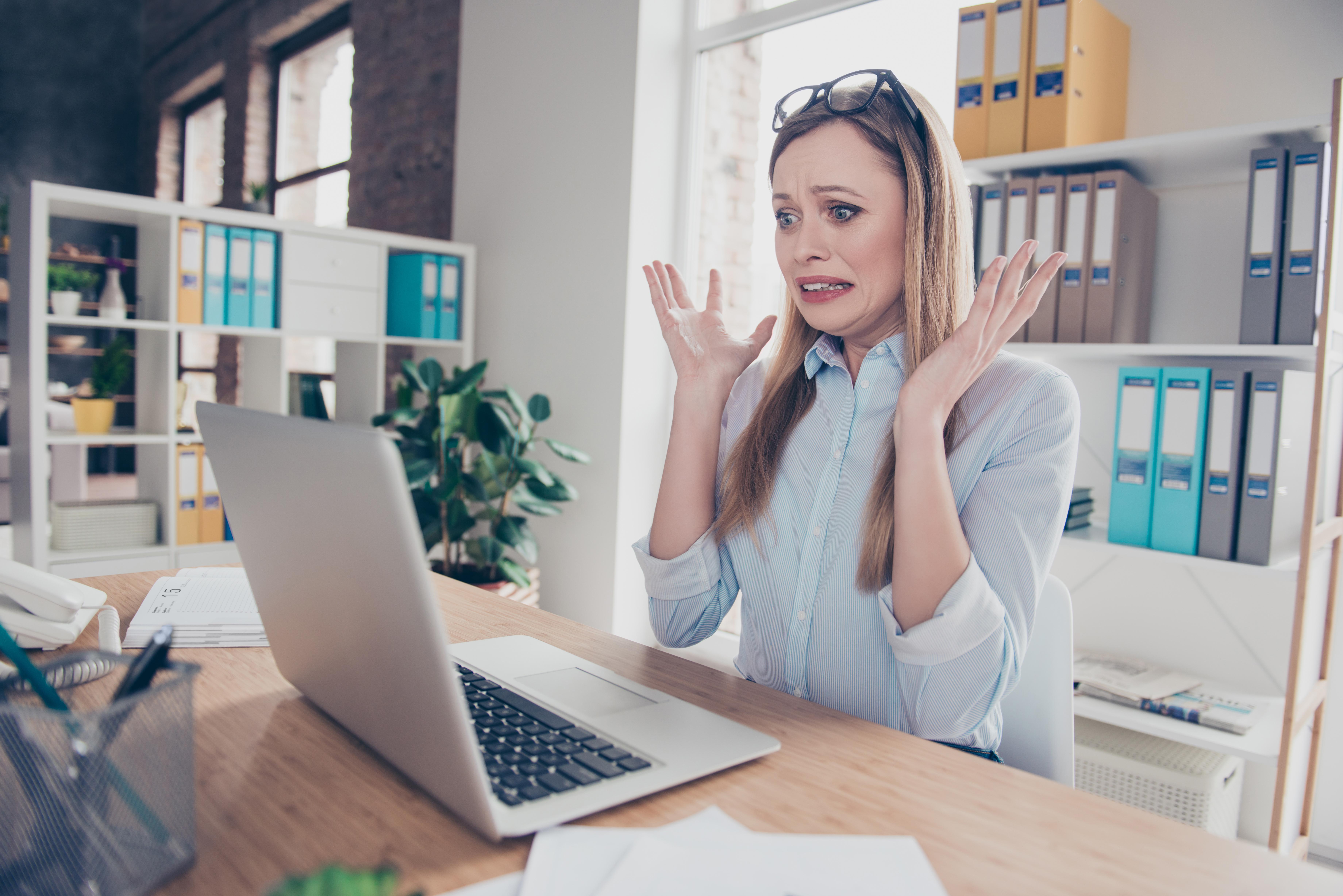¿Cómo asumir tus errores en el trabajo?