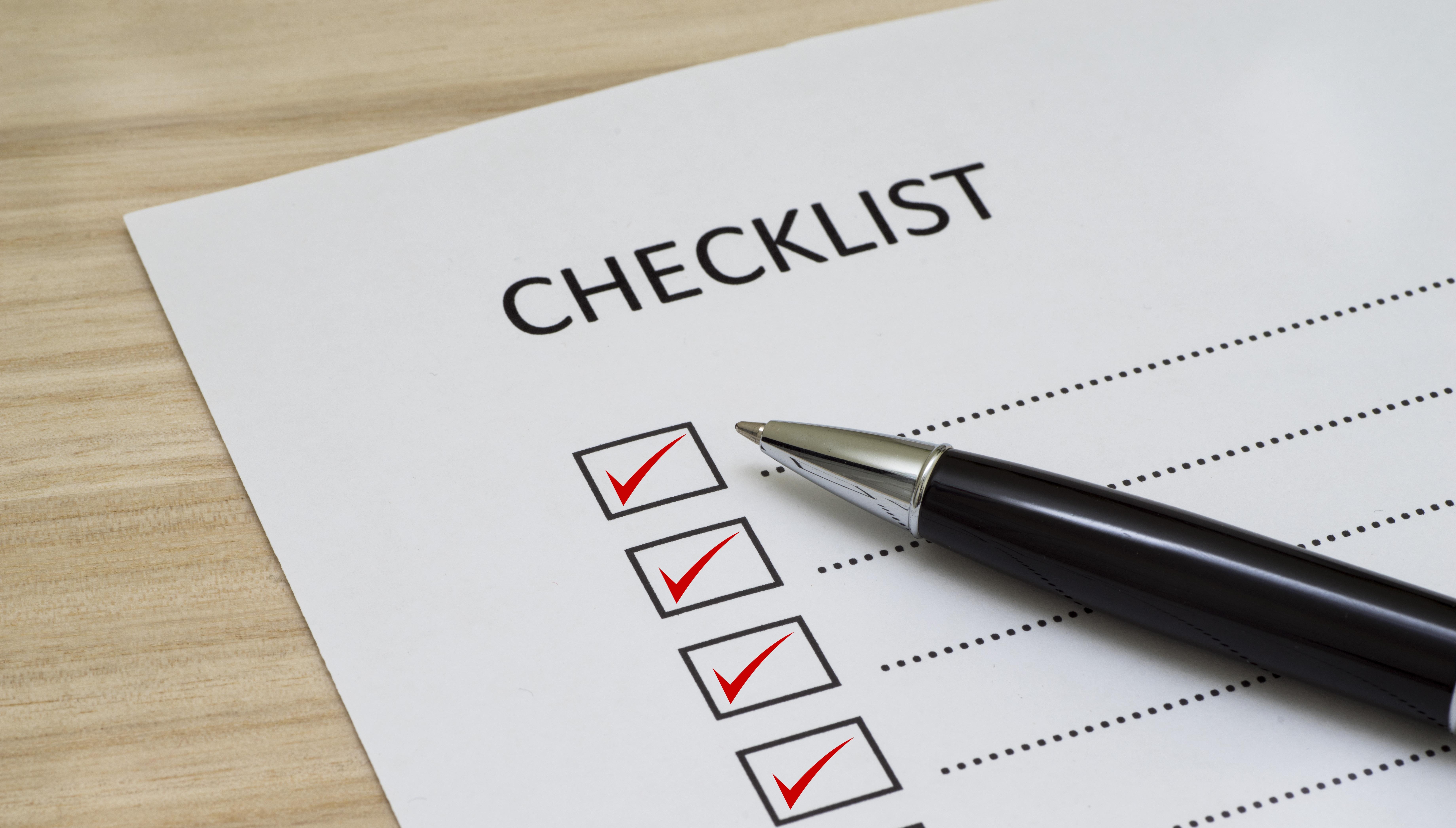 Checklist: Para hacer home office efectivo