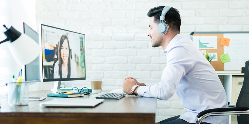Cómo prepararte para una entrevista por videoconferencia
