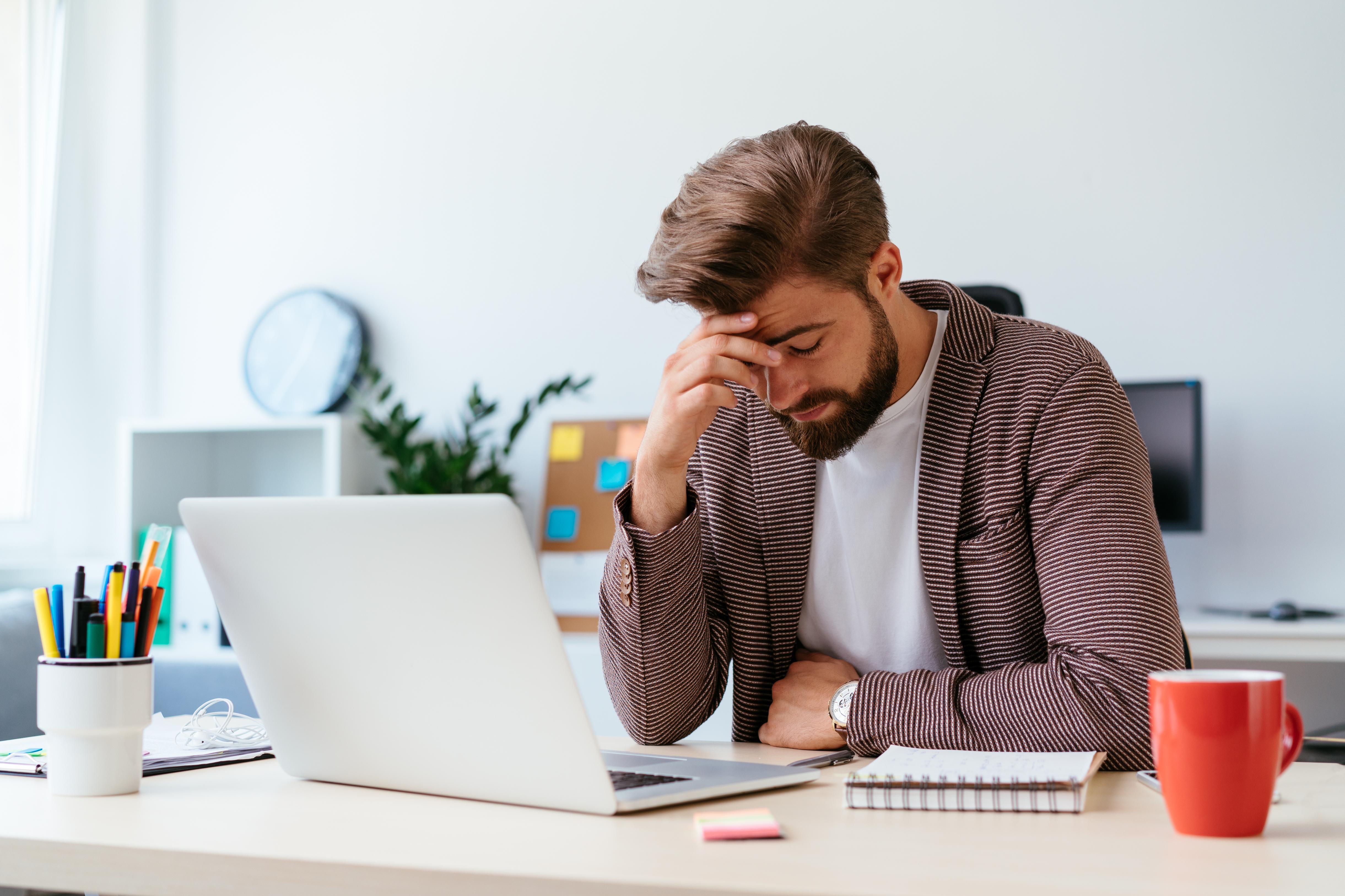 ¿Te sientes frustrado en el trabajo?